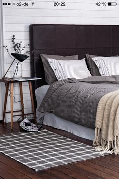 H&M Home 2014 | Autumn Winter | Bedroom | White - Grey Shades