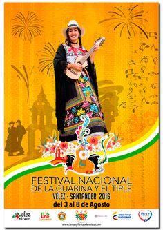 Festival Nacional de la Guabina y el Tiple. Véñez-Santander.