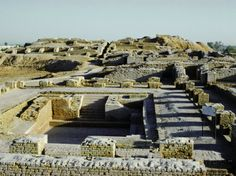 Great Bath of the Citadel from South, Indus Valley Civilization, Mohenjodaro, Sind (Sindh)