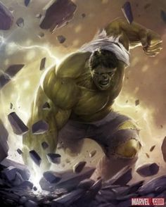 Check out this art of the Hulk by Francesco Mattina from the ...