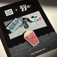 Movie Pin Set