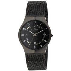 Skagen Men's 233XLTMB Titanium Watch Auction
