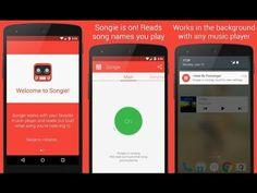 Songie – títulos de canciones en voz – para Android - YouTube
