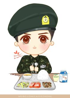 [fanart] Eat more and keep healthy & strong!! 606 days left. Miss you and waiting for you!! #jaejoong #김재중 #JJ