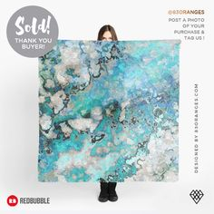 Just sold a Scarf with my artwork titled 'Marble Art V7'! Order yours or see all #redbubble products carrying this design here: https://www.redbubble.com/people/83oranges/works/15062621-marble-art-v7?asc=u&p=scarf