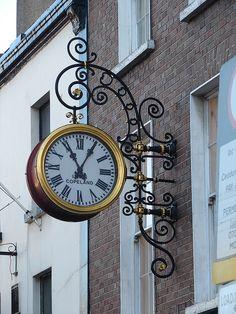 Dublin Ireland clock by Miguel Angelo