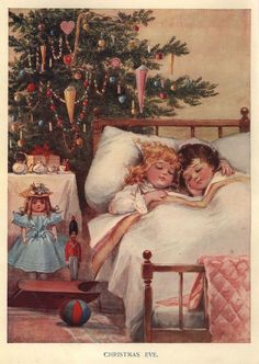 """Wings of Whimsy: """"Christmas Eve"""" ~ 1906 Free Printable"""