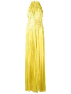 MARIA LUCIA HOHAN sleeveless belted gown. #marialuciahohan #cloth #gown