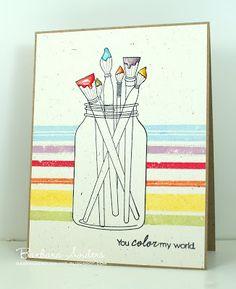 Paper Pursuits: You color my world - C4C #51