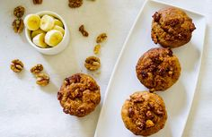 Walnut Banana Muffins - Live Learn Inspire