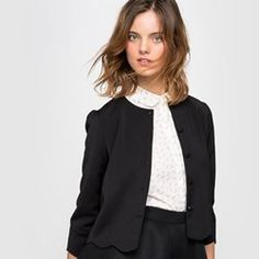 0918b265b72 Shop gorgeous jackets and blazers for added style to your look this season  and achieve stunning French chic with La Redoute.