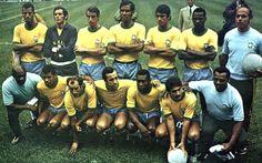 Seleção Brasileira 1970 time posado (Foto: Divulgação / Site Oficial CBF)