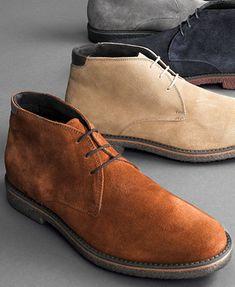 Alfani Lancer Suede Chukka Boots | macys.com