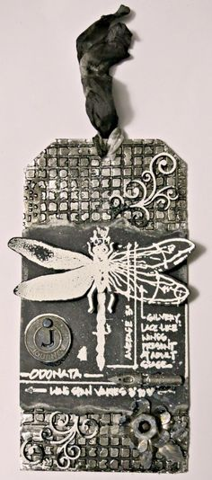 Tim Holtz Inspired Tag- 12 Tags of 2016 – January 2016 - Creative Embellishments