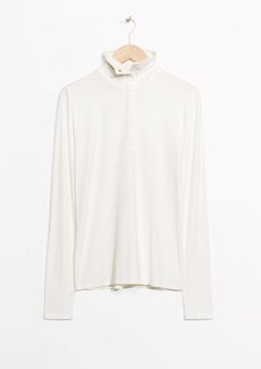 & Other Stories image 1 of Turtleneck Top  in White