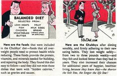 "Vintage Recipe, Diet and Retro Lifestyle Blog by Averyl Hill. Because I'm Outdated By Design!: ""Cheers for Chubby"""