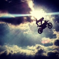 fly, freestyle, jump, motocross