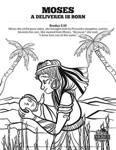 exodus 2 baby moses sunday school coloring pages get ready to unleash the creativity of