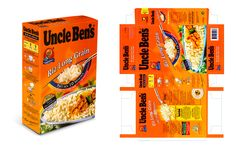 Uncle bens rice box | Uncle Ben's: Rice box - visuals created in Adobe Photoshop & Adobe ...