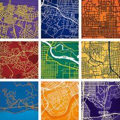 City Maps Reinterpreted