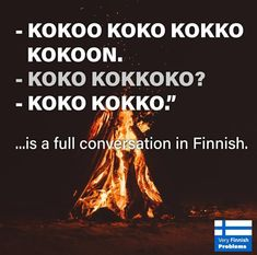 At least it& easy to learn welcome to Finland. Most Popular Social Media, Social Media Pages, Finnish Memes, Comedian Videos, Finnish Words, Internet Memes, Happy Words, Have A Laugh, Best Memes