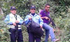 Encuentran armas enterradas en el departamento de Copán