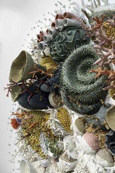 Arte Coral, Art Alevel, Creative Textiles, Mushroom Art, American Crafts, Art Blog, Ceramic Art, Textile Art, Fiber Art