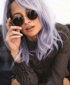 purple hair for the win !