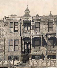 Les maisons anciennes de Maisonneuve Ontario, Style Édouardien, Notre Dame, Comme, Taj Mahal, Toronto, Canada, Culture, Memories