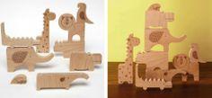 Petit Collage wood animal puzzle