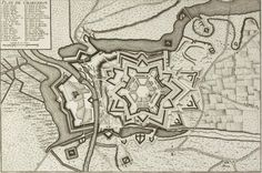 Charleroy, France - lerouge 1744