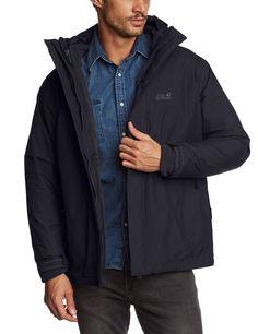 Jack Wolfskin Herren 3in1-Jacke Iceland Jacket Men