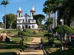 Vassouras (RJ) - Brasil - Igreja Matriz Nossa Senhora da Conceição, na praça Barão de Campo Belo
