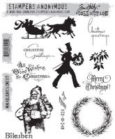 Bilde av produkt: Tim Holtz Collection - Mini Holidays 5 - Stamps