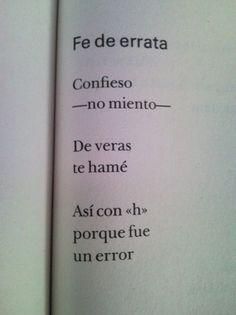Fe de errata - Rodolfo Quintero-Noguera