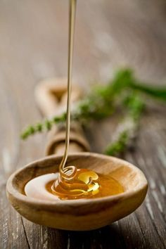 Honey is one of my top ingredients; it fights bacteria, perfect to mix with bentonite clay for an acne fighting face mask and mixing it with olive oil and hair conditioner makes a super hydrating hair mask!