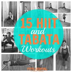 15 HIIT and Tabata Workouts
