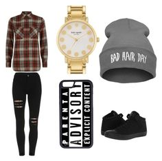 """""""Untitled #8"""" by laiya-serenity on Polyvore featuring Converse, Denim & Supply by Ralph Lauren, Kate Spade and CellPowerCases"""