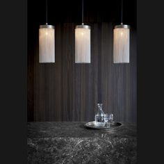 Silver Chain Maxi Pendant by Tigermoth Lighting Ltd