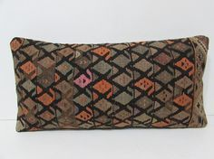 kilim pillow house decoration lumbar pillow by DECOLICKILIMPILLOWS
