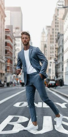 Mode Masculine, Business Outfits, Business Fashion, Business Style, Men Business Casual, Mens Business Clothes, Men Clothes, Business Suits Men, Business Casual Sneakers