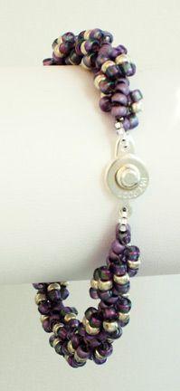 Spiral Bracelet Tutorial must try! @ecrafty #ecrafty #diybracelets #braceletsupplies