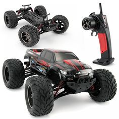 iMeshbean 9115 Scale RC Monster Truck Remote Control Off-road Car High Speed With charge voltage overheating low power Red Remote Control Boat, Radio Control, Carros Suv, Best Rc Cars, Monster Trucks, Rc Trucks, Electronic Toys, Rc Model, High Speed