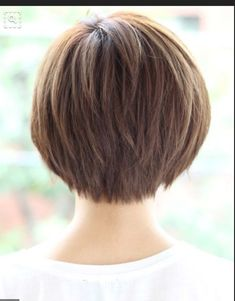 Attractive and Creative Hairstyles for Short Bob Hair - Page.-Attractive and Creative Hairstyles for Short Bob Hair – Page 4 of 4 – Fashion Attractive and Creative Hairstyles for Short Bob Hair – Page 4 of 4 – Fashion - Bob Haircuts For Women, Short Layered Haircuts, Short Hairstyles For Thick Hair, Layered Bob Hairstyles, Short Hair Cuts For Women, Curly Hair Styles, Choppy Haircuts, Layered Bobs, Pixie Styles