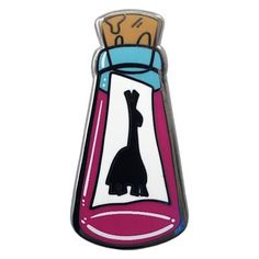 Llama Potion Pin