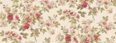Eglantine (DVIWEG104) - Sanderson Wallpapers - A charming old-fashioned romantic floral design of rose bouquets. Available in 6 colourways, shown in the beige and pink on cream. Please request a sample for true colour match.