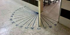 Protractor door! Would also be helpful to put the other set of numbers too...to fix any common misconceptions.