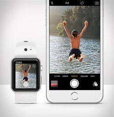CMRAé um novo dispositivo com uma câmera para oApple Watch, ele permite que você capture asfotosdo seu pulso.Odispositivo inteligentedesenvolvido para o Apple Watch possui duas câmeras: uma frontal