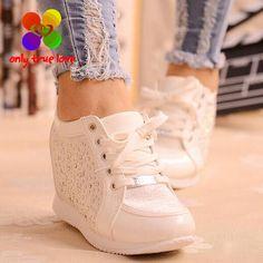 $12.16 (Buy here: https://alitems.com/g/1e8d114494ebda23ff8b16525dc3e8/?i=5&ulp=https%3A%2F%2Fwww.aliexpress.com%2Fitem%2FBlack-White-Free-Shipping-Hidden-Wedge-Heels-Fashion-Women-s-Elevator-Shoes-Casual-Shoes-For-Women%2F32704770195.html ) Black White Free Shipping Hidden Wedge Heels Fashion Women's Elevator Shoes Casual Shoes For Women wedge heel Rhinestone 2016 for just $12.16