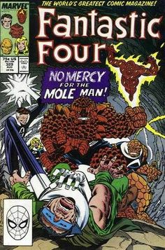Fantastic Four #329 - No Mercy for the Mole Man!